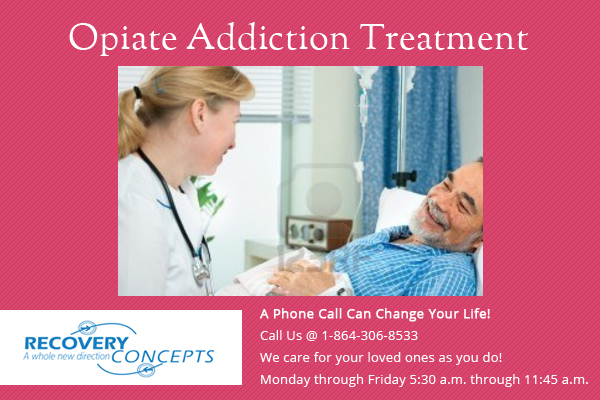 opiate addiction treatment help