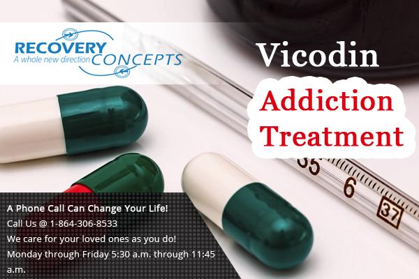 Vicodin Addiction Rehab Greenville